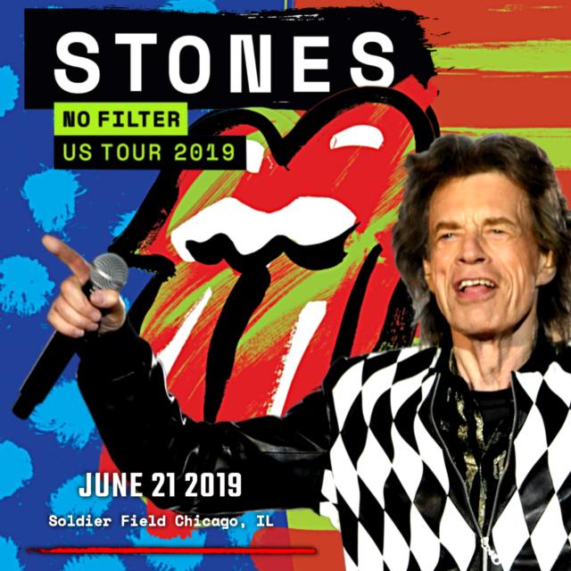 コレクターズCD Rolling Stones - No Filter North American Tour 2019