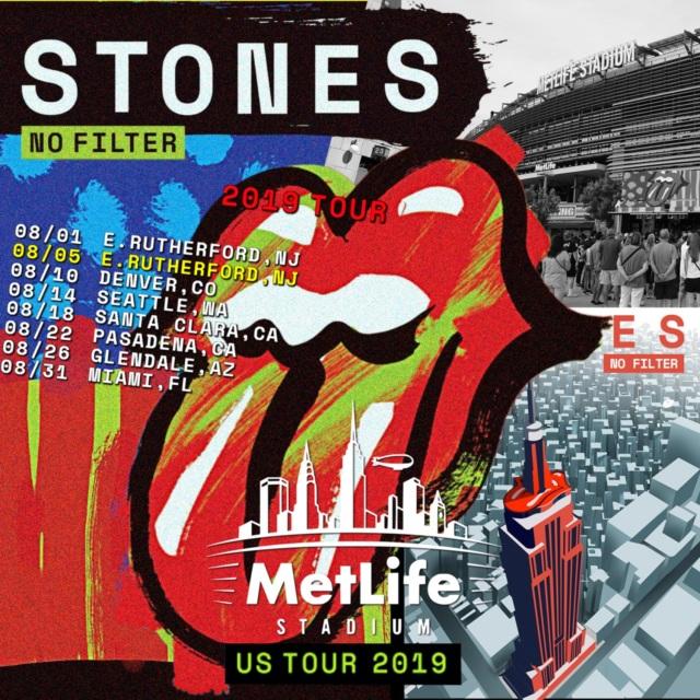 コレクターズCD The Rolling Stones - No Filter Tour 2019