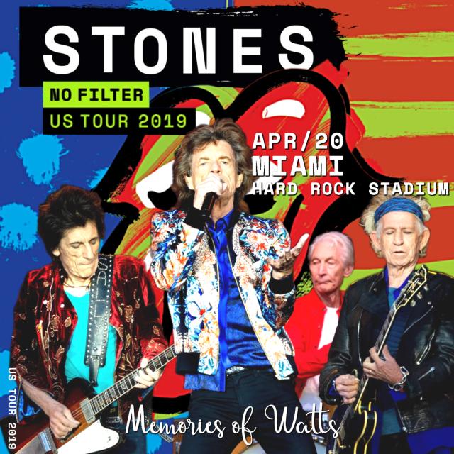 コレクターズCD Rolling Stones - No Filter Tour 2019 Final