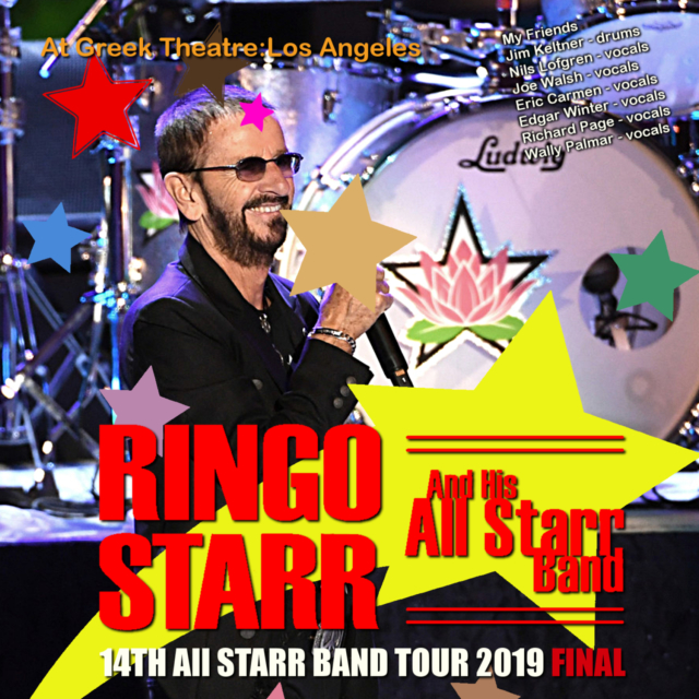 コレクターズCD Ringo Starr and His All Starr Band - 14th All Starr Band Tour 2019 Final