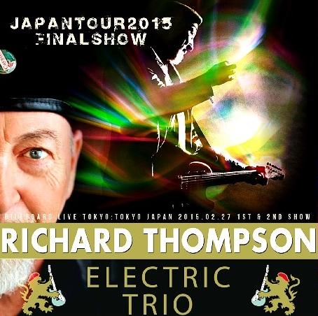 コレクターズCD リチャード・トンプソン 2015年日本公演