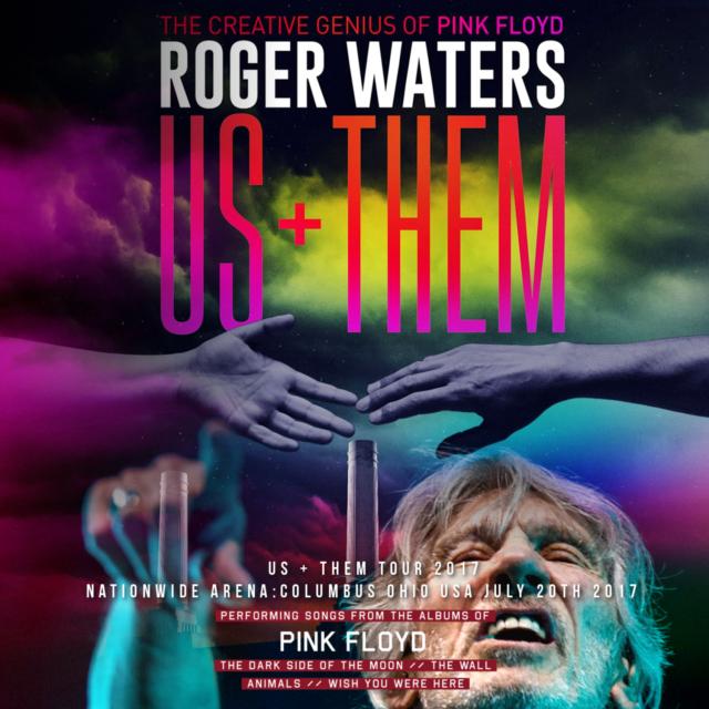 コレクターズCD ロジャーウォータース 2017年アメリカンツアーUs + Them Tour 2017