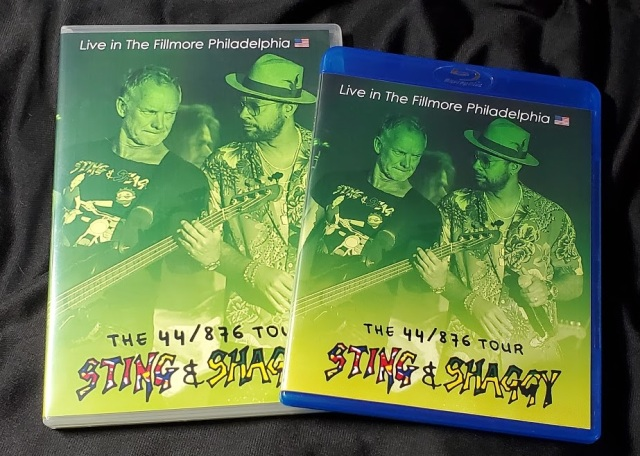 コレクターズBlu-ray  Sting & Shaggy - The 44/876 Tour 2018
