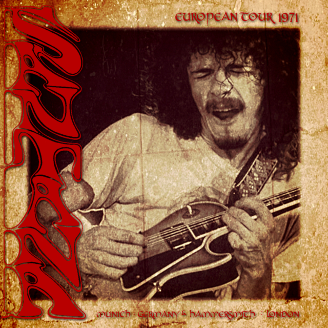 コレクターズCD Santana - European Tour 1971