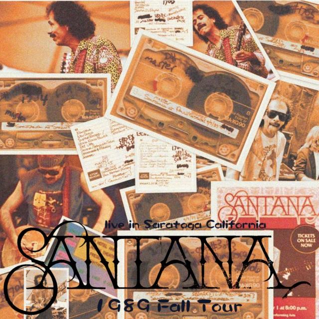 コレクターズCD Santana - 1989 Fall Tour