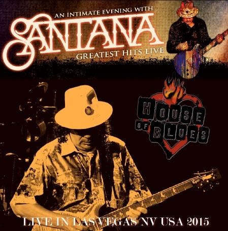 コレクターズCD サンタナ 2015年アメリカツアー ラスベガス(An Intimate Evening with Santana Tour 2015)