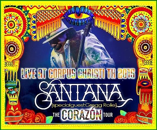 コレクターズCD サンタナ 2015年アメリカツアー Corazon Tour 2015