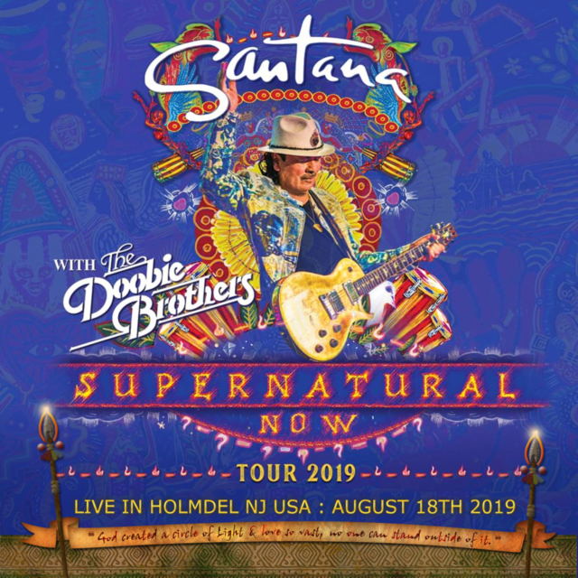 コレクターズCD Santana - Supernatural Now Tour 2019