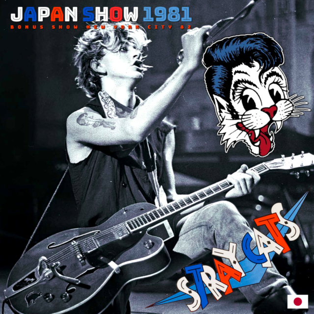 コレクターズCD Stray Cats - Japan Tour 1981