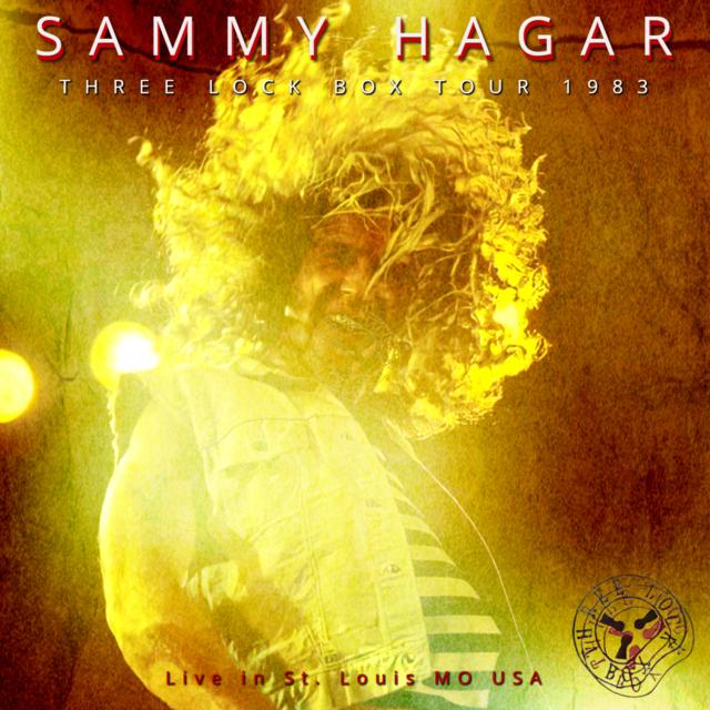 コレクターズCD Sammy Hagar - Three Lock Box Tour 1983