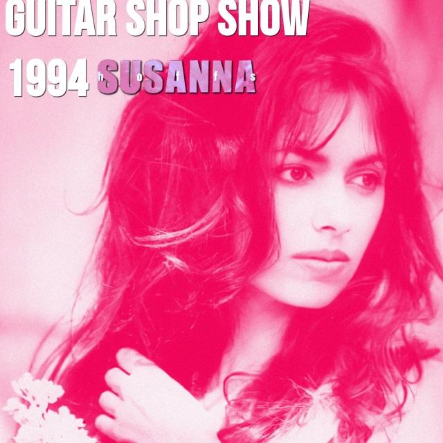 コレクターズCD Susanna Hoffs - Guitar Shop show 1994