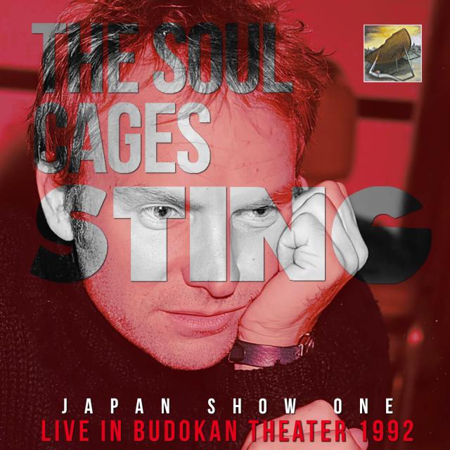 コレクターズCD Sting - The Soul Cages Tour 1992