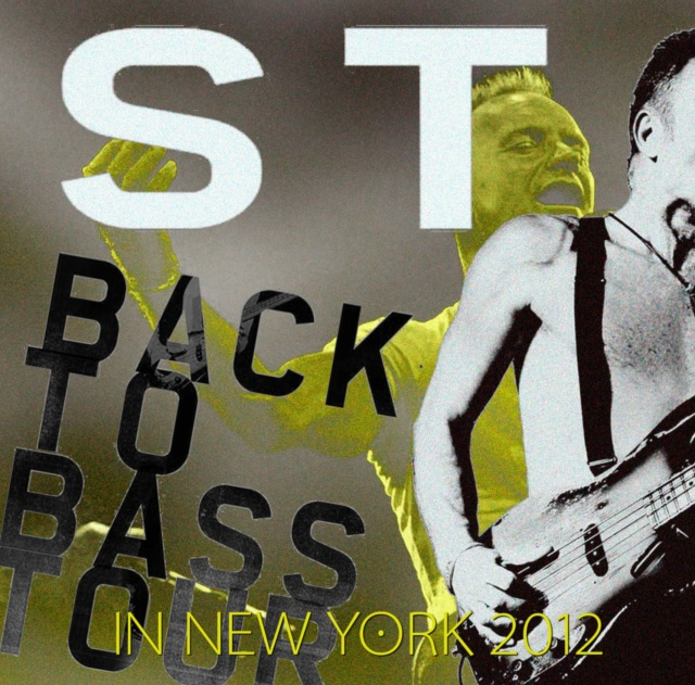 コレクターズCD Sting - Summer Tour 2012