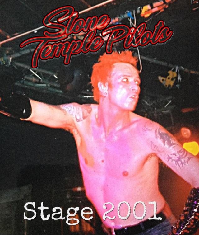 コレクターズBlu-ray Stone Temple Pilots - Stage 2001