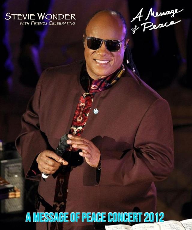 コレクターズBlu-ray - Stevie Wonder - A Message Of Peace Concert 2012