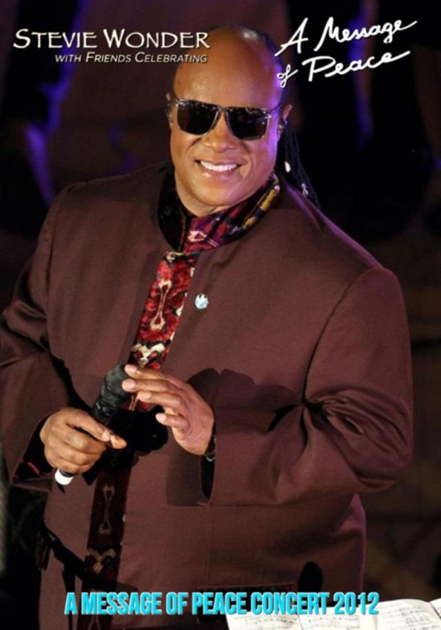 コレクターズDVD Stevie Wonder - A Message Of Peace Concert 2012