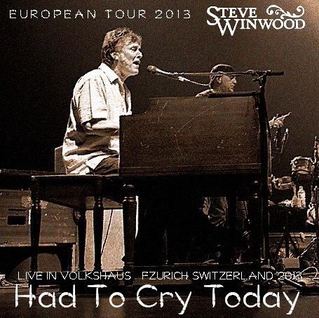 コレクターズCD スティーヴ・ウィンウッド 2013年ヨーロッパツアー