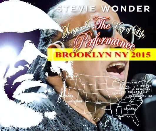 コレクターズCD スティーヴィー・ワンダー 2015年アメリカツアー (Songs in the Key of Life Performance Tour 2015)