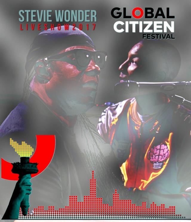コレクターズBlu-ray  Stevie Wonder at Global Citizen Festival 2017
