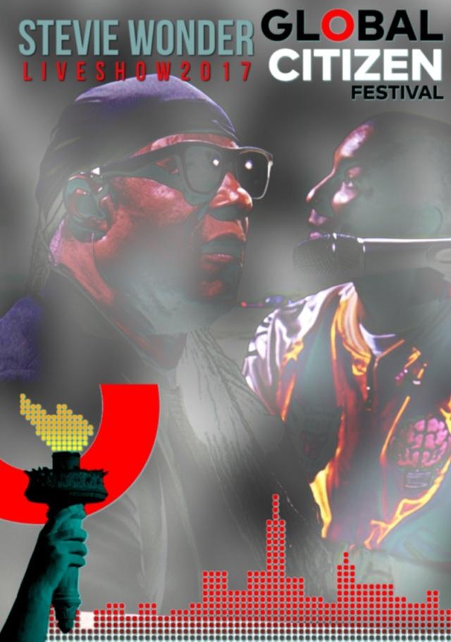 コレクターズDVD   Stevie Wonder at Global Citizen Festival 2017
