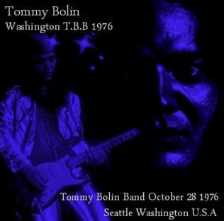 コレクターズCD Tommy Bolin(トミーボーリンバンド76年アメリカツアーWashington)