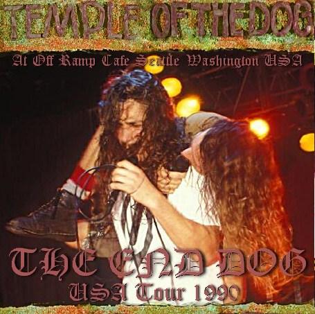 コレクターズCD Temple Of The Dog (テンプル・オブ・ザ・ドッグ) 90年アメリカツアー