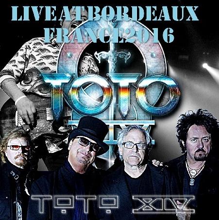 コレクターズCD TOTO 2016年ヨーロッパツアー