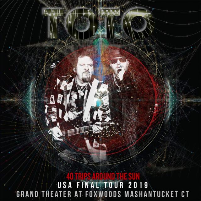 コレクターズCD TOTO - 40 Trips Around the Sun Tour 2019