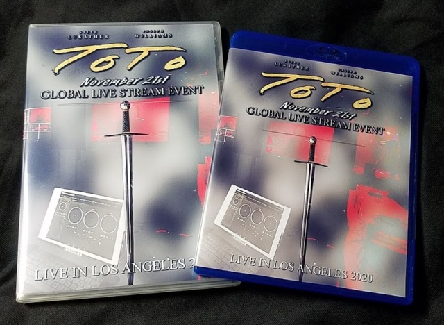 コレクターズBlu-ray  TOTO - Live in Los Angeles 2020