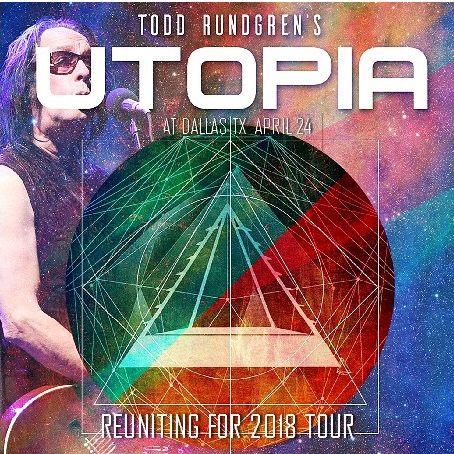 コレクターズCD Todd Rundgren's Utopia - Reuniting for 2018 Tour