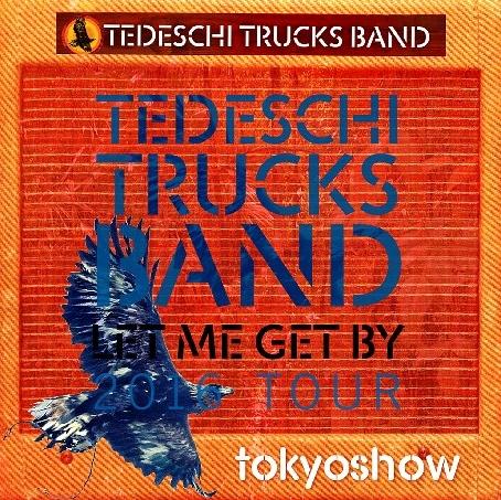 コレクターズCD Tedeschi Trucks Band(テデスキ・トラックス・バンド) 2016年日本公演
