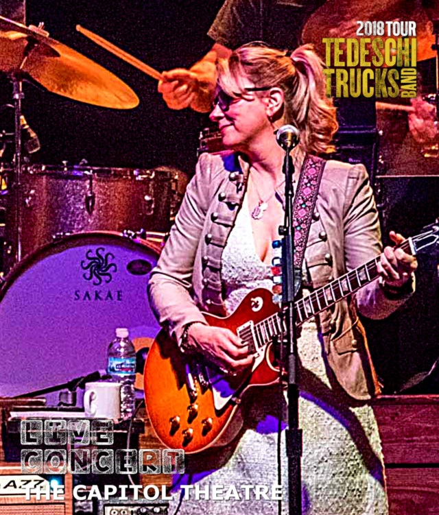 コレクターズBlu-ray  Tedeschi Trucks Band - US Tour 2018