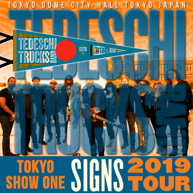 コレクターズCD Tedeschi Trucks Band - Signs Japan Tour 2019
