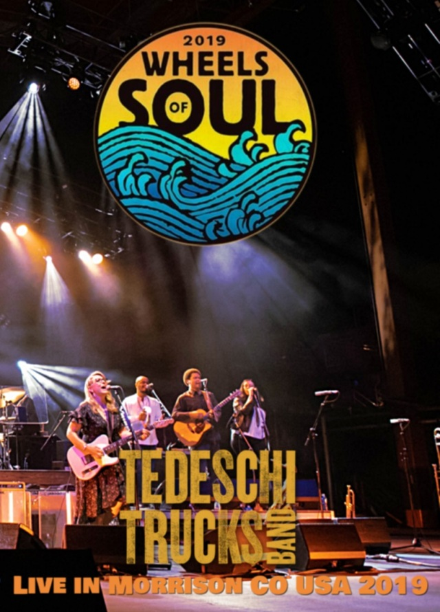 コレクターズDVD Tedeschi Trucks Band - Wheels of Soul Tour 2019