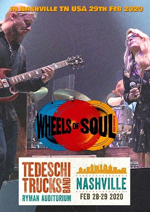コレクターズDVD Tedeschi Trucks Band - USA Tour 2020