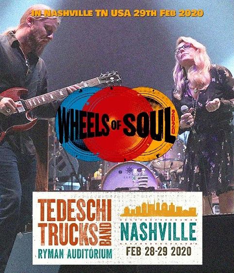 コレクターズBlu-ray Tedeschi Trucks Band - USA Tour 2020
