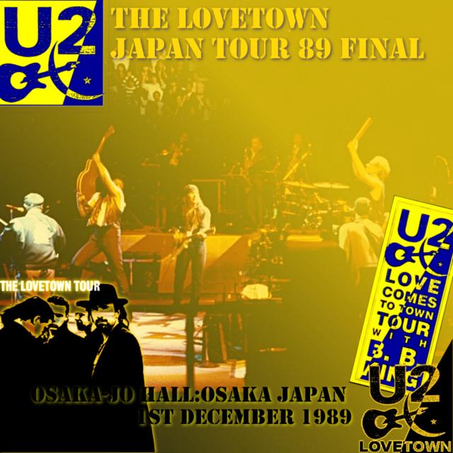 コレクターズCD U21989年日本公演