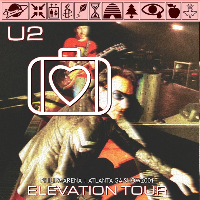 コレクターズCD U2 - Elevation Tour 2001