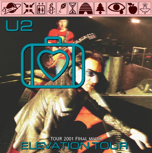 コレクターズCD U2 - Elevation Tour 2001 Final