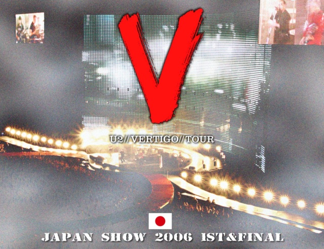 コレクターズCD U2 - Vertigo Japan Tour 2006