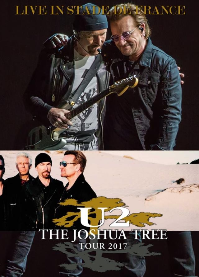コレクターズDVD  U2 - The Joshua Tree Tour 2017