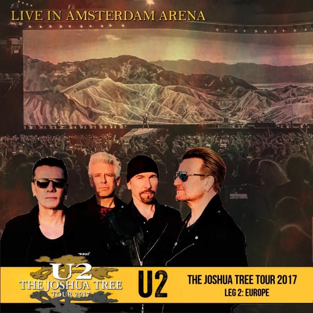 コレクターズCD U2 - The Joshua Tree Tour 2017