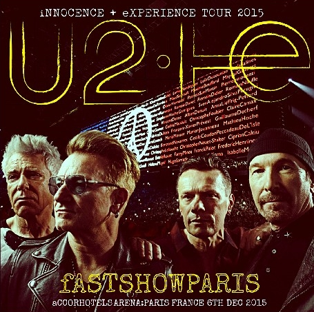 コレクターズCD U2(ユートゥー)2015年ヨーロッパツアー