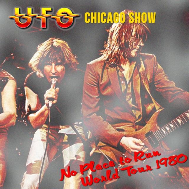 コレクターズCD UFO - No Place to Run World Tour 1980