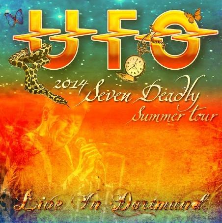 コレクターズCD UFO 2014年ヨーロッパツアー ドイツ ドルトムント