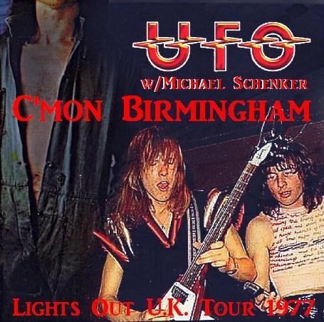 コレクターズCD UFO(w/マイケルシェンカー)77年ヨーロッパツアー