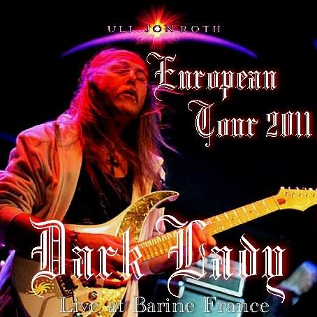 コレクターズCD Uli Jon Roth(ウリ・ジョン・ロート)2011年 ヨーロッパツアー