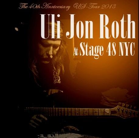 コレクターズCD Uli Jon Roth(ウリ・ジョン・ロート) 2013年アメリカツアー