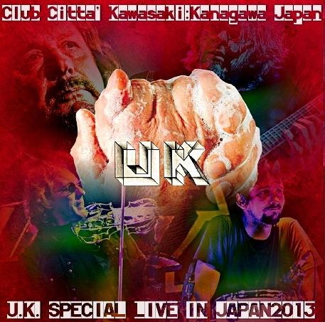コレクターズCD U.K. Special Live In Japan 2013 川崎