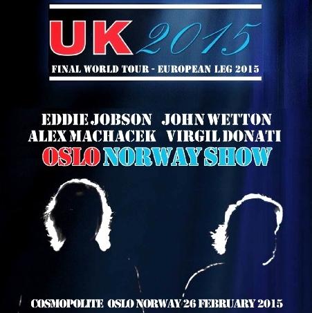 コレクターズCD UK(ユー・ケイ) 2015年ヨーロッパツアー